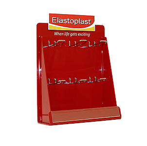 Image of Elastoplast POS custom display by Image Plastics